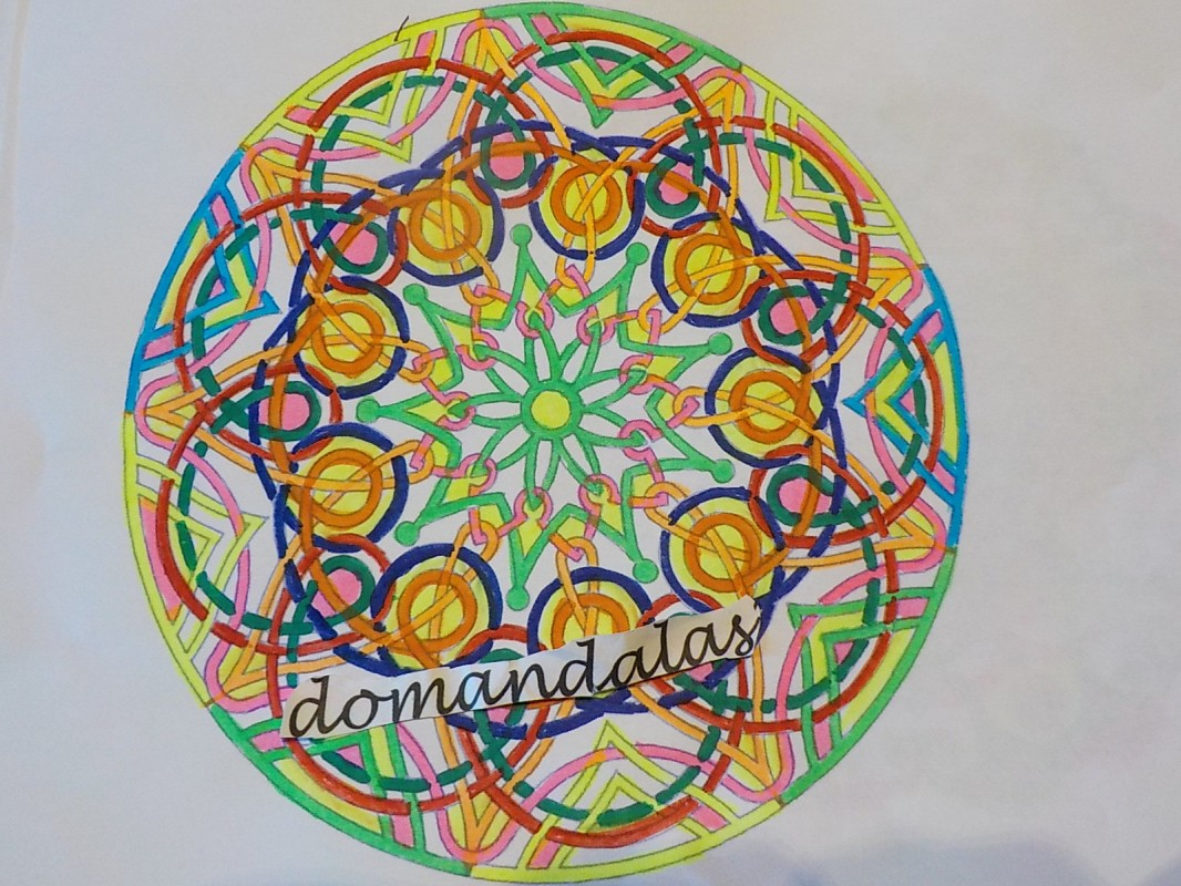 Creation by domandalas3bis, coloring page from the gallery Mandalas