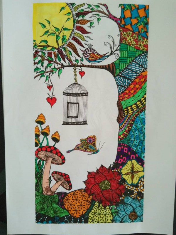 Creation by armelle, coloring page from the gallery Flowers & vegetation