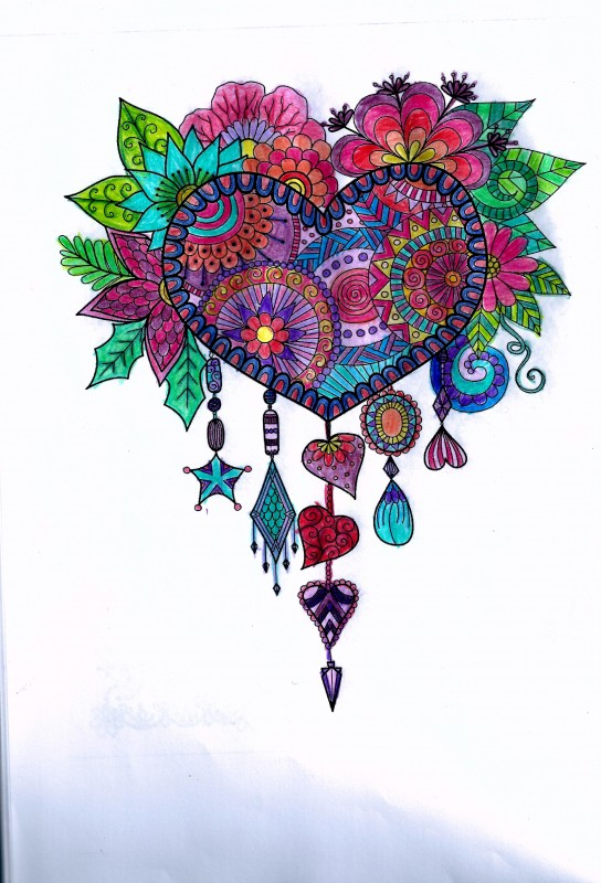 Creation by myrsinou, coloring page from the gallery Dreamcatchers