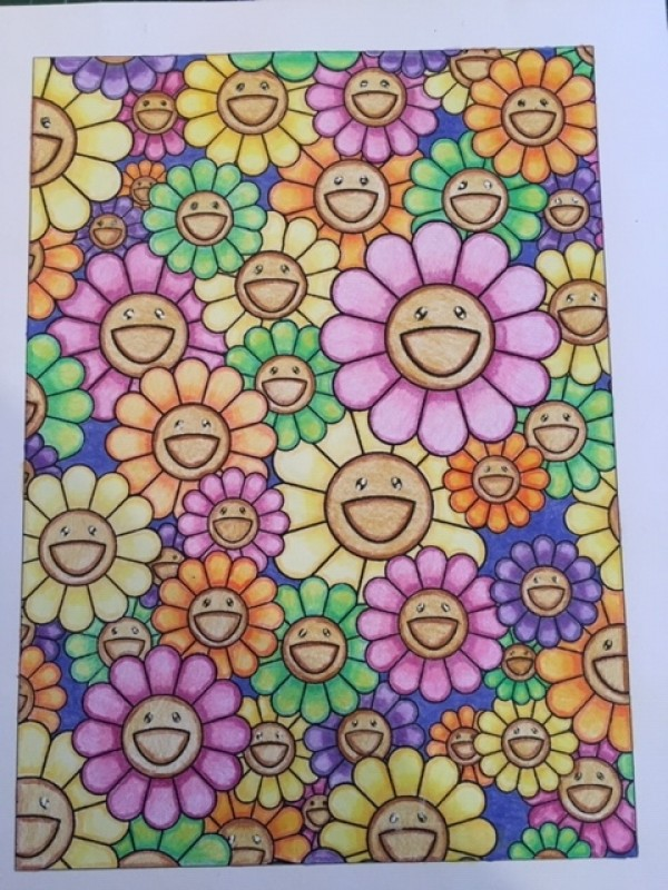 Creation by sandy, coloring page from the gallery Masterpieces