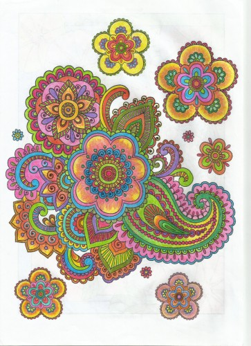coloring-oriental